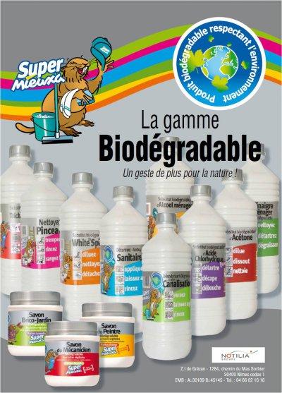Super Mieuxa, la gamme biodégradable, un geste de plus pour la nature a728fab339a